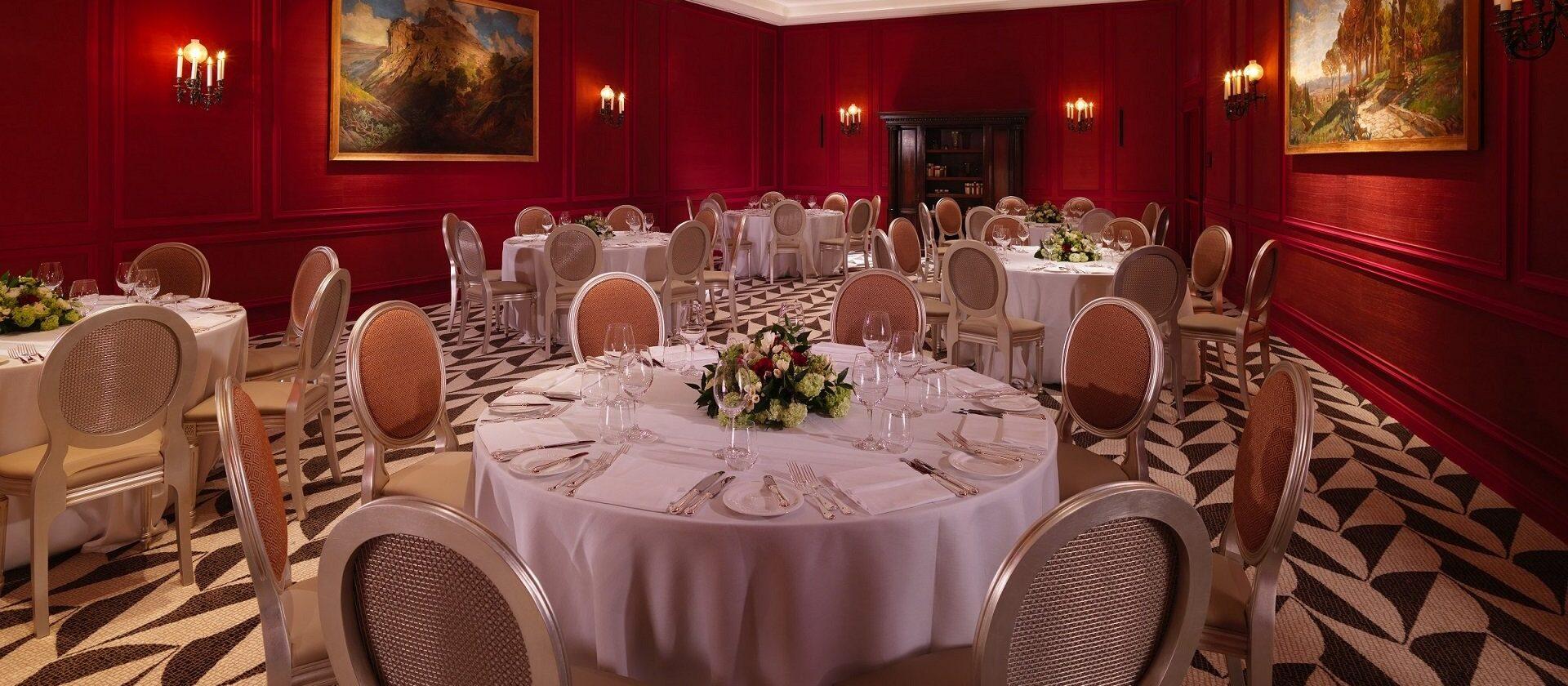 Banqueting at Sala Borghese at Hotel Eden