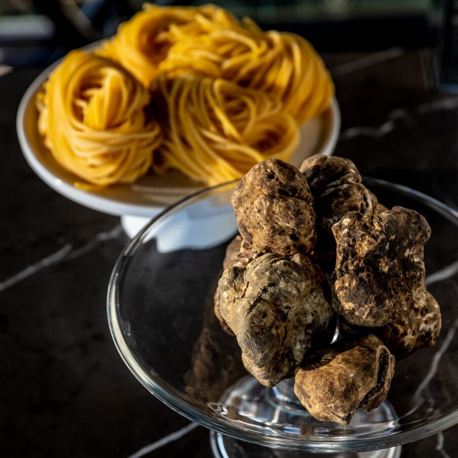 White truffle menus
