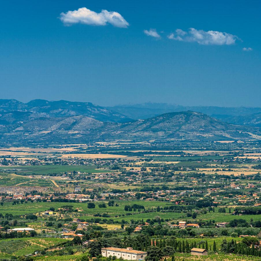 Monte Porzio Catone View