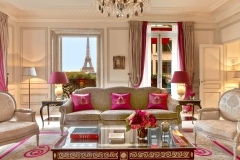 Your own window into the heart of Paris and that most spectacular sight – La Tour Eiffel