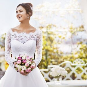 Dorchester bride in penthouse and pavilion on terrace