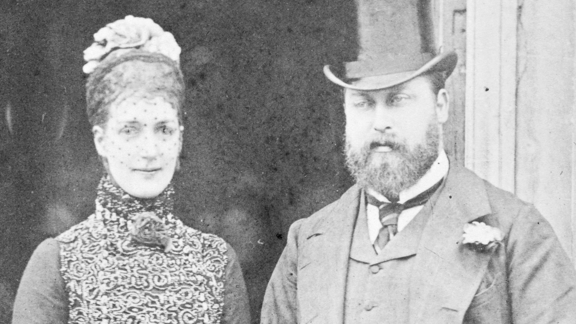 The Prince (later King Edward VII) and Princess of Wales in 1882
